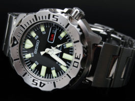 Seiko Black Monster Review