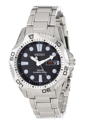 Seiko Men's SNE107 Solar Dive Watch