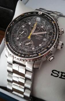 Seiko SNA411 Flight Alarm Watch