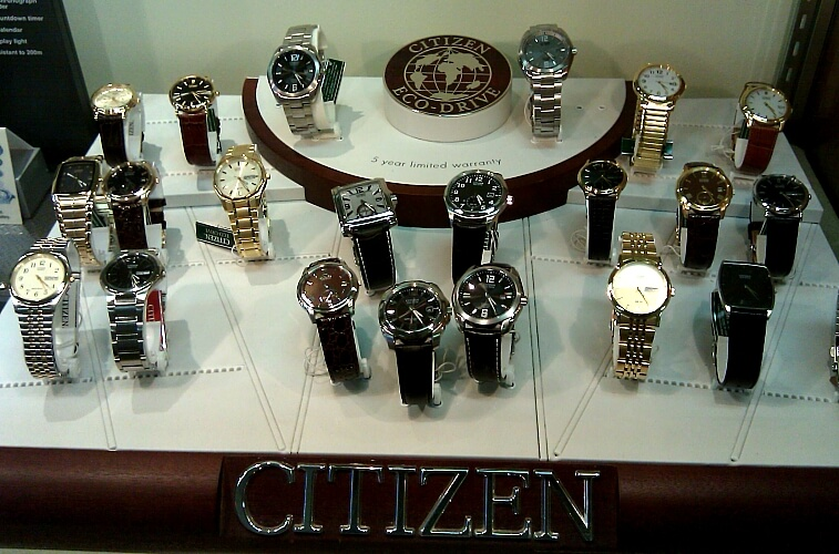 citizen brand watches