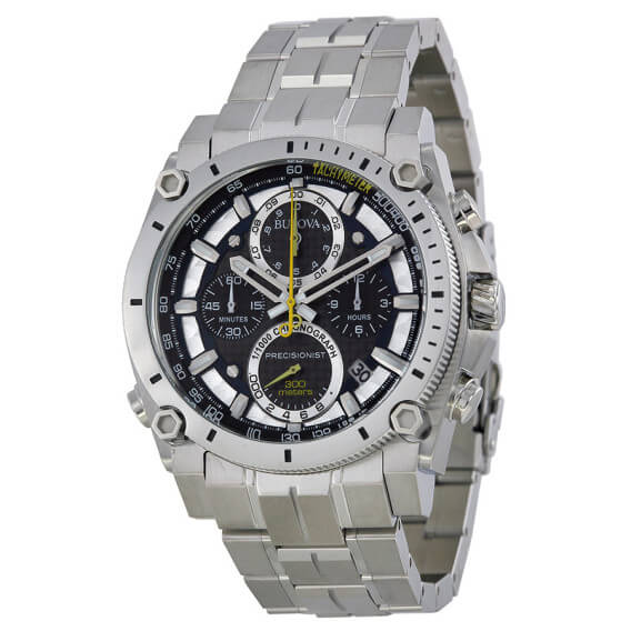 bulova 96B175 precisionist stainless steel watch