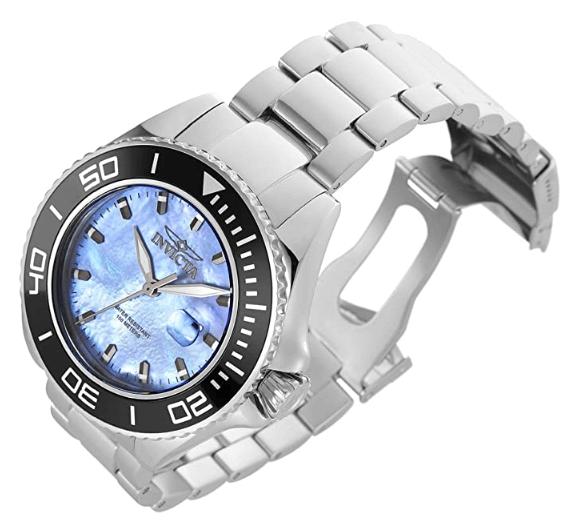 blue face watch