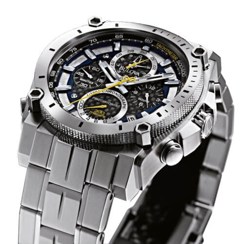 Bulova Men's 96B175 precisionist automatic watch 2