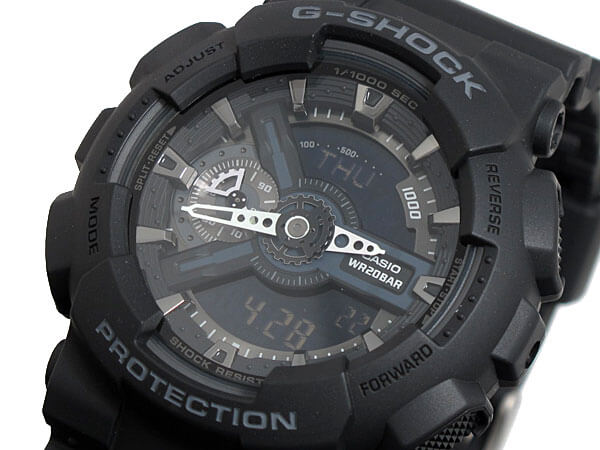 Casio G-Shock GA110-1B Military Series Watch
