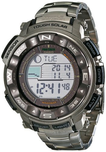 Casio Men's PRW-2500T-7CR Pro Trek Tough Solar Digital Sports Watch