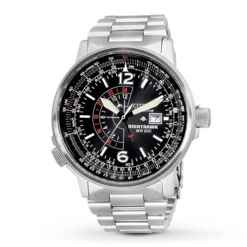 Citizen Men's Nighthawk Eco-Drive Watch BJ7000-52E