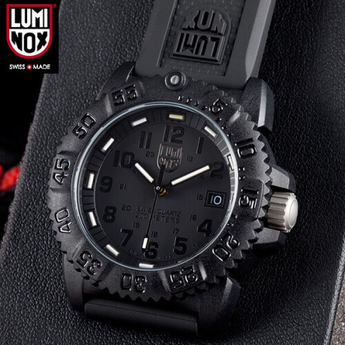 Luminox Navy Seal Blackout Diver Watch