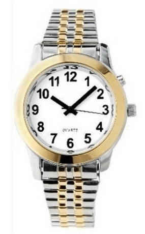 Active Products Plus Men's Deluxe Talking Wristwatch for the blind