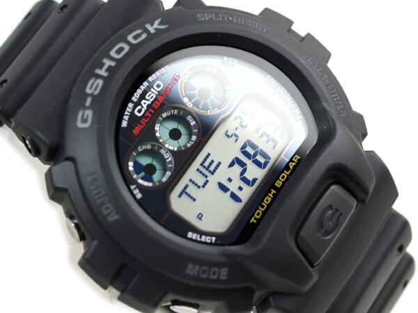 Casio Men's GW6900-1 G-Shock Tough Solar Digital Sport Watch