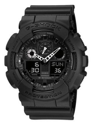 Casio GA100-1A1 Black Tactical Watch
