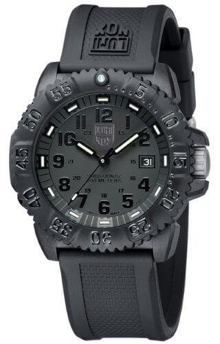 luminox navy seal blackout tactical watch