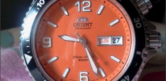 watches with orange faces