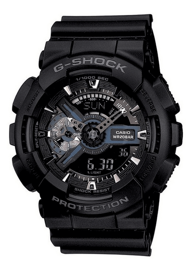 G-Shock GA110-1B Military Series Black Watch
