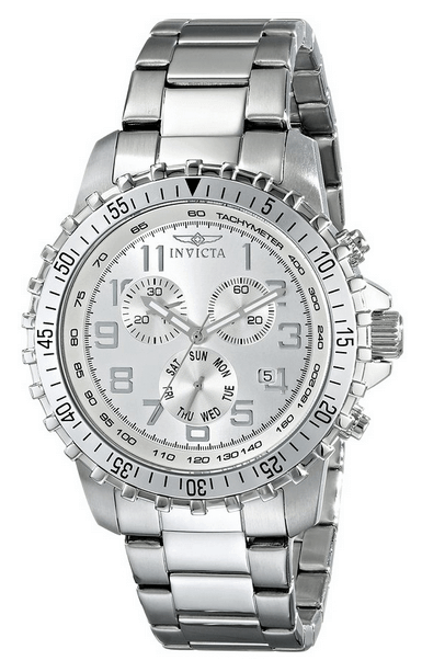 Invicta Men's 6620 II Collection Stainless Steel Silver Watch