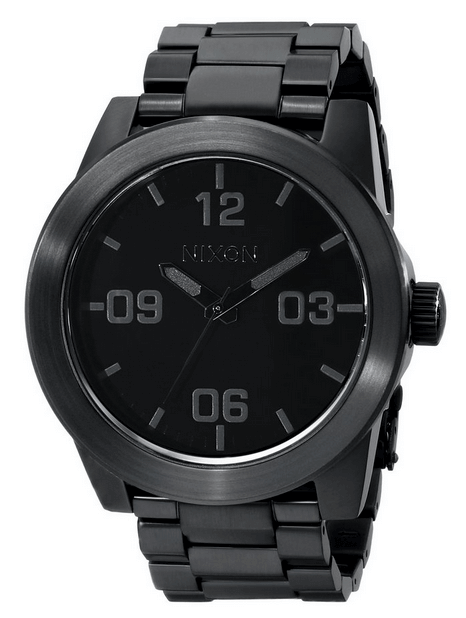 Nixon Men's Corporal Stainless Steel Large Faced Watch