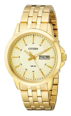 Citizen Men's BF2013-56P Gold-Tone Bracelet Watch