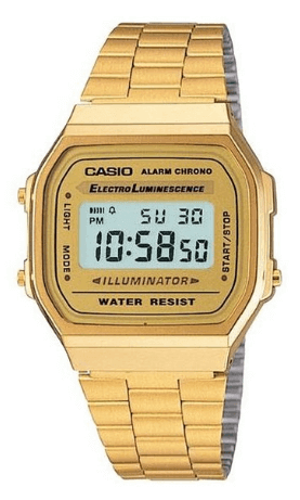 casio classic gold watch