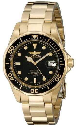 invicta mens 8936 pro diver gold watch 2