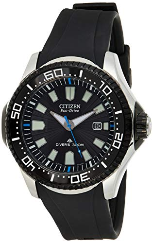 "Citizen Men's BN0085-01E ""Professional"" Stainless Steel Eco-Drive Watch"
