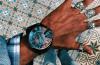 diesel big face watches