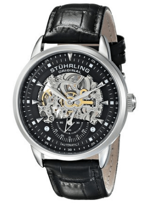 stuhrling original executive skeleton watch 133.33151