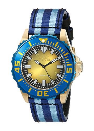 Invicta Men's 18618 Pro Diver Analog Display Swiss Quartz Blue Watch
